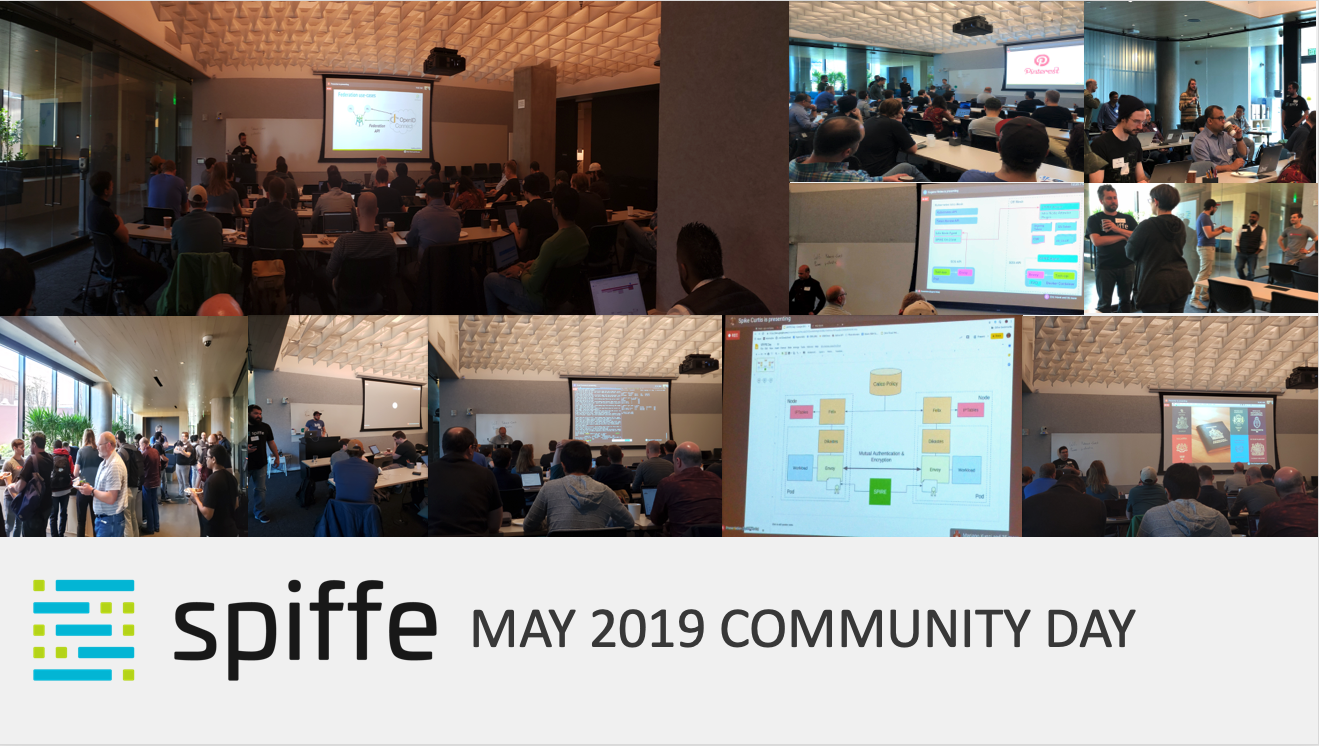 SPIFFE Community Day May 2019